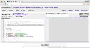 JS Minifier Online