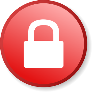 red security alert message shown by browser